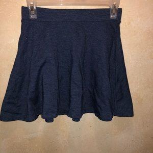 Forever 21 Blue cotton skater skirt